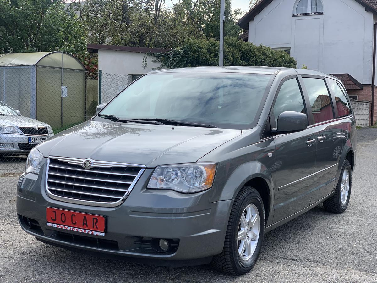 Chrysler Grand Voyager 2.8 CRD TOURING KLIMA
