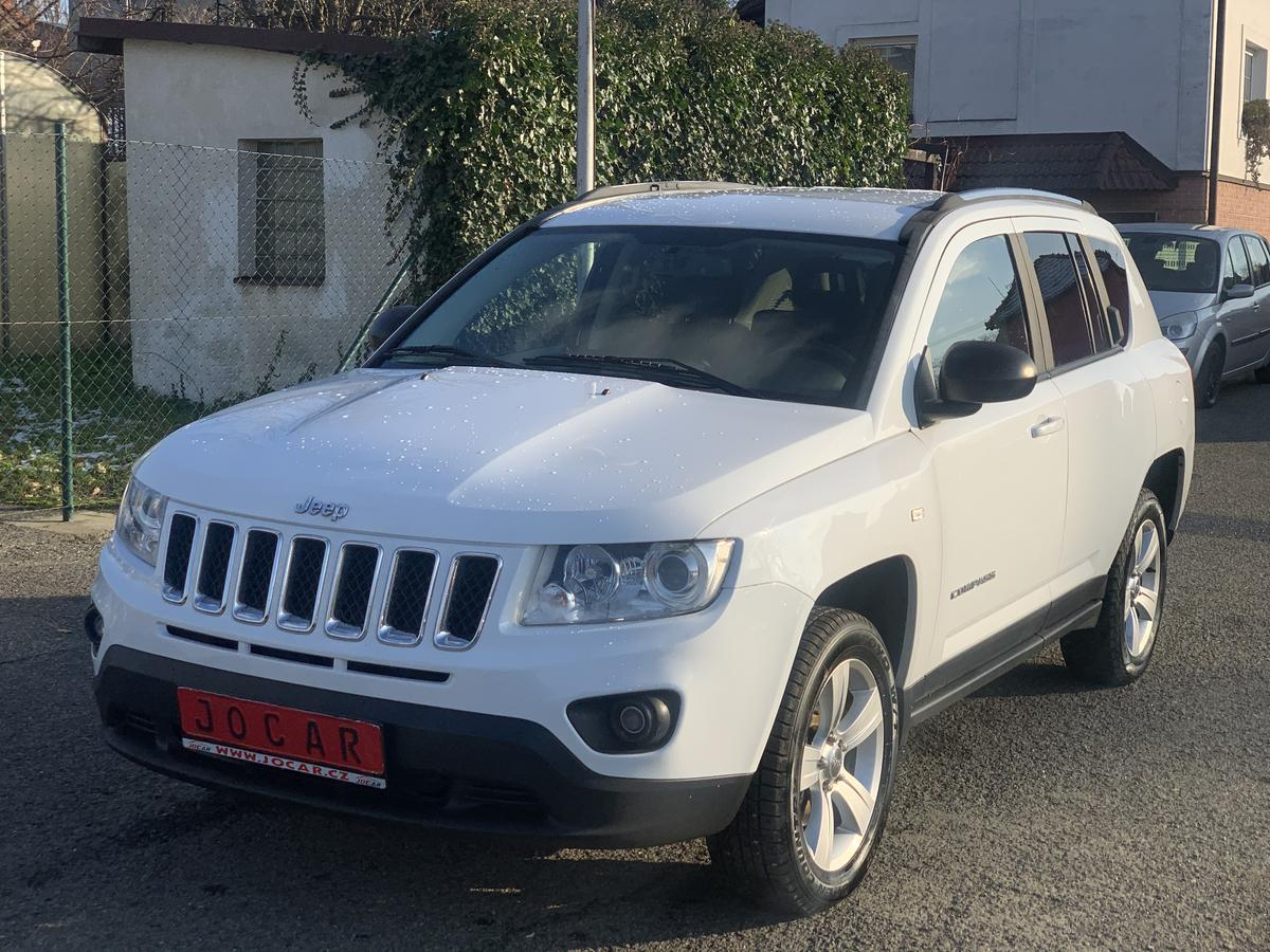 Jeep Compass 2.2 CRD LIMITED 4X4 MANUÁL TOP